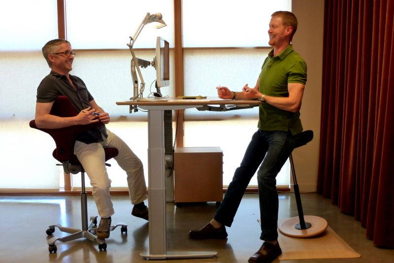 Столы с регулируемой высотой Standupdesks