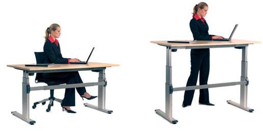 Stand Sit Desks Martha Stewart Computer Desk